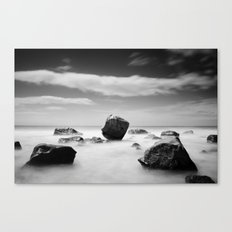 Standing out of the Crowd - A long exposure Seascape Canvas Print