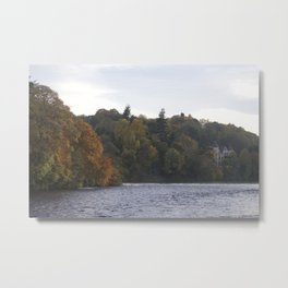 Autumn from Ness Island Inverness Metal Print