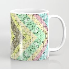 Colorful abstract pattern, patchwork, multicolored, plaid 2 Coffee Mug