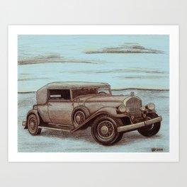 1920's In Full Force Art Print