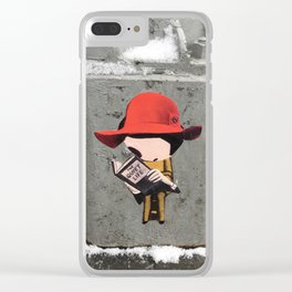 The Quiet Life Clear iPhone Case