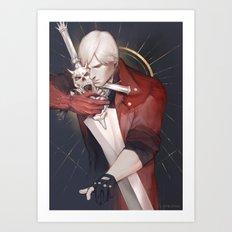KING OF KINGS Art Print