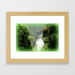 Crawford's Lookout - Cairns Hinterland Framed Art Print