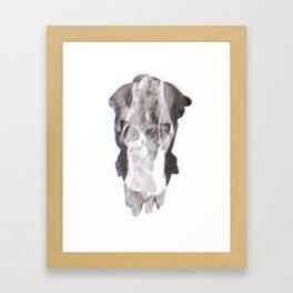Tritone F Framed Art Print