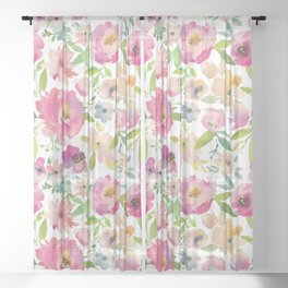 Summer Vibes Sheer Curtain
