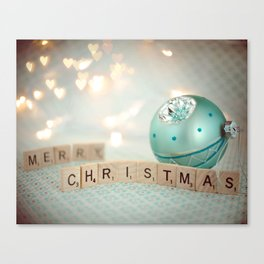 Merry Christmas Canvas Print