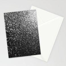 Silver Sparkle Glitter Stationery Cards