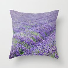 LAVENDER MOOD Throw Pillow