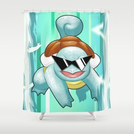 Squirtle Squad Shower Curtain