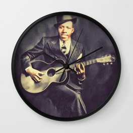 Robert Johnson, Music Legend Wall Clock