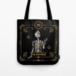 The Empress III Tarot Card Tote Bag