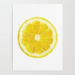 Lemon Slice Poster