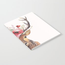 Bohemian Deer Notebook