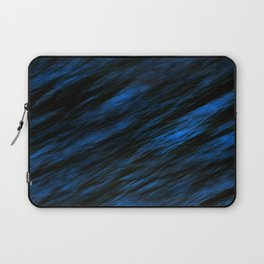 Blue abstract pattern background Laptop Sleeve
