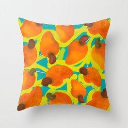 Cajufolia Throw Pillow