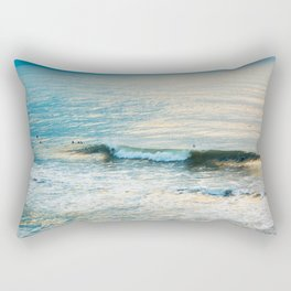 Winter Surfing II Rectangular Pillow