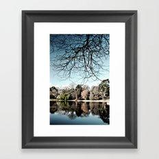 Mount Stewart Lake Framed Art Print