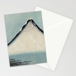 Hokusai, the blue fuji- hokusai,manga,japan,fuji, blue fuji,Shinto Stationery Cards