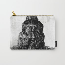 Hairy man Carry-All Pouch
