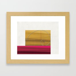 Fibonacci Art Framed Art Print