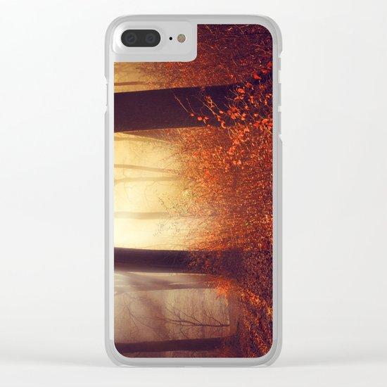 aglow Clear iPhone Case