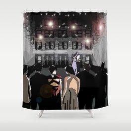 Terrace Lights Shower Curtain