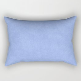 Speckled Texture - Pastel Royal Blue Rectangular Pillow