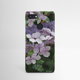 Hydrangea Violet Hues Android Case