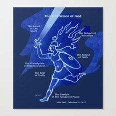 Warrior Girl 5 Canvas Print