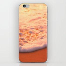 Ocean foam on beach | Beer of the Sea | Dewey Beach, DE iPhone Skin