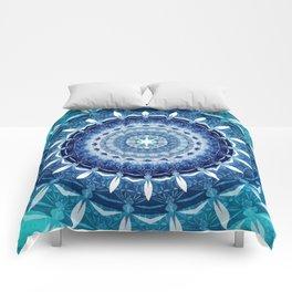 Absolute Zero Mandala Comforters