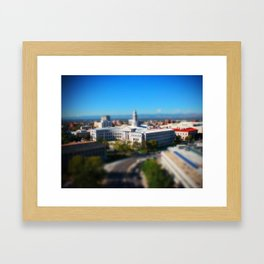 Civic Center Building Framed Art Print