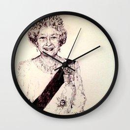 Queen Elizabeth Wall Clock