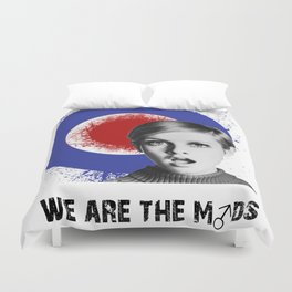 we are the mods Duvet Cover