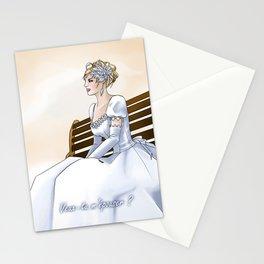 Demande en mariage Stationery Cards