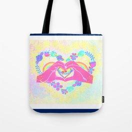 Manos artisticas Tote Bag