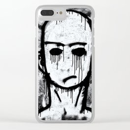 Stephens Graffiti Clear iPhone Case