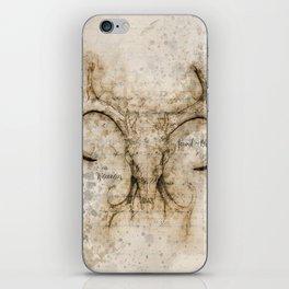 Skulled Oddity iPhone Skin