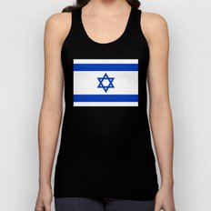 National Flag of the State of Israel Unisex Tank Top