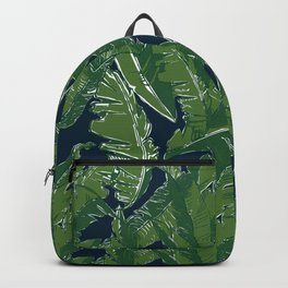 Leaves Bananique in Atlantic Navy Backpack