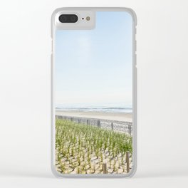 At the Jersey Shore Clear iPhone Case