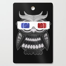 Owl - 3D Glasses Cutting Board