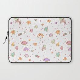 Cute sea creatures pattern Laptop Sleeve