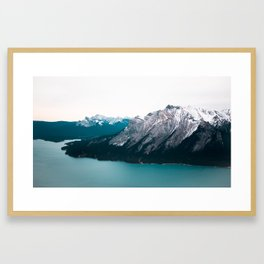 Abraham Lake, Alberta Framed Art Print