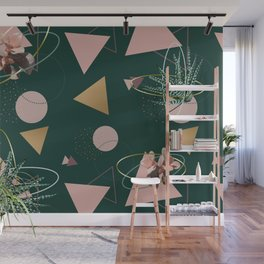 Succulents Atoms #society6 #decor #buyart Wall Mural