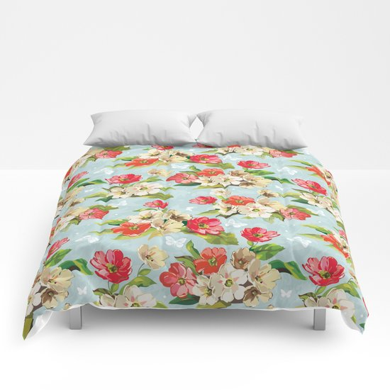 Spring in the air #3 Comforters
