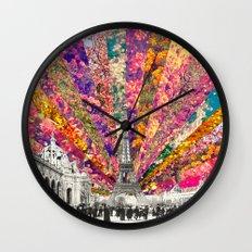 Vintage Paris Wall Clock