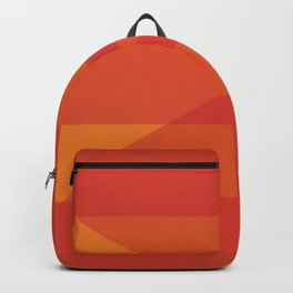 Oculus Home Red Orange Pillow Backpack