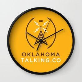 Oklahoma Talking Co.  Wall Clock