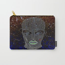 Masked Woman Carry-All Pouch